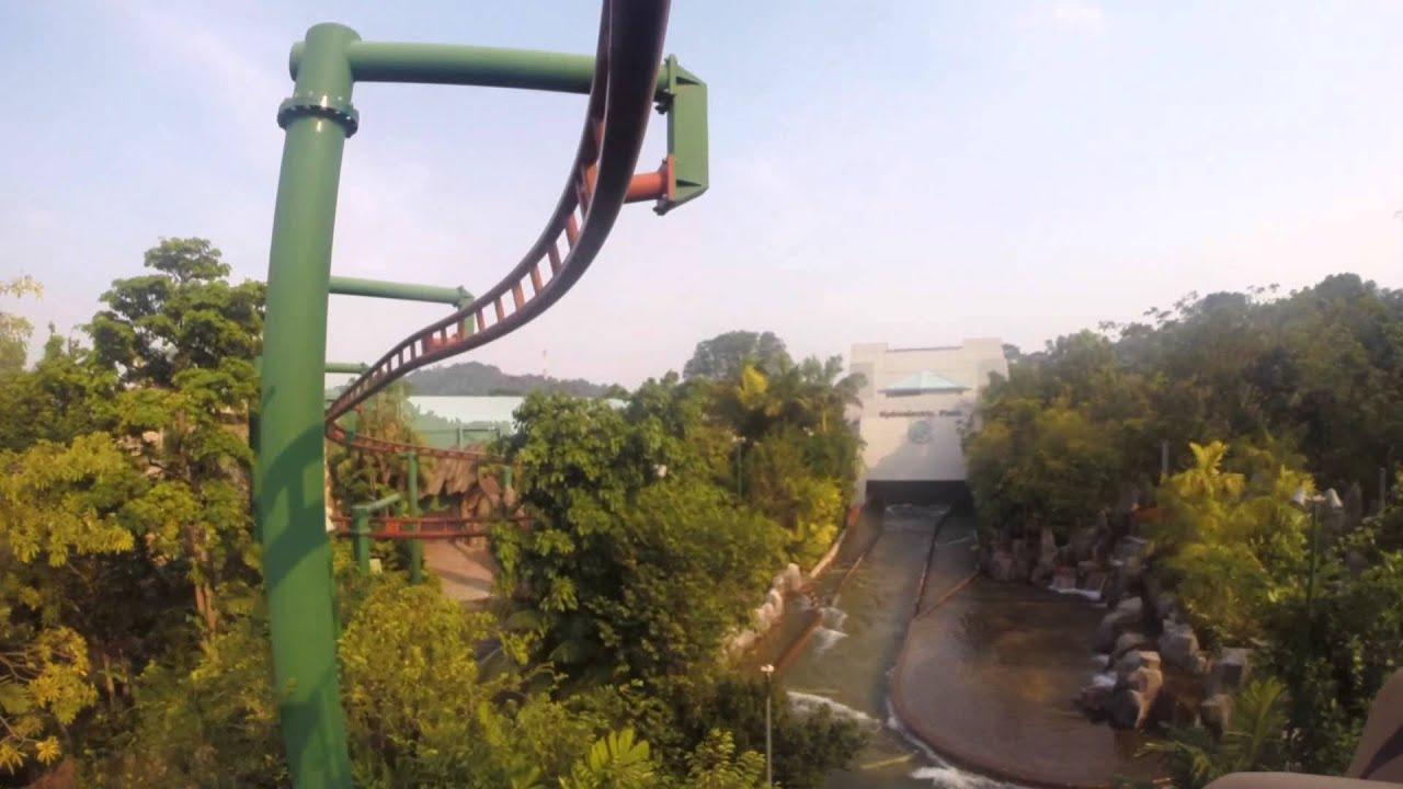 Universal Studios Singapore Canopy Flyer (Gopro) & Universal Studios Singapore Canopy Flyer (Gopro) - YouTube