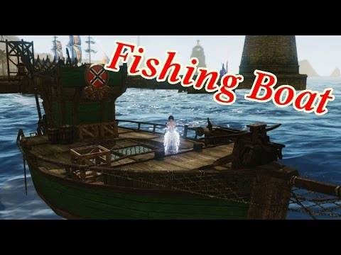 how to build a fishing boat archeage