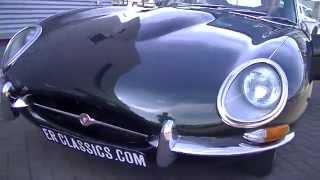 Jaguar E-Type S1 Coupe 1966 California Blackplate Matching Numbers -VIDEO- www.ERclassics.com