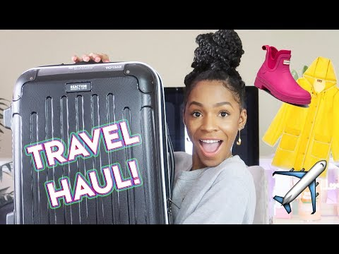 Random Spring Travel Stuff Haul! Affordable Luggage, Hunter For Target + Travel Tips! ▸ VICKYLOGAN