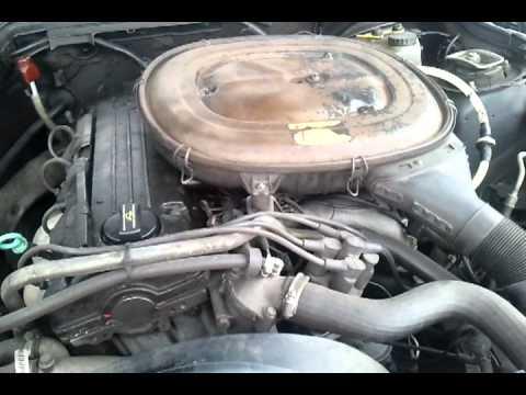 Mercedes 190 E engine problems