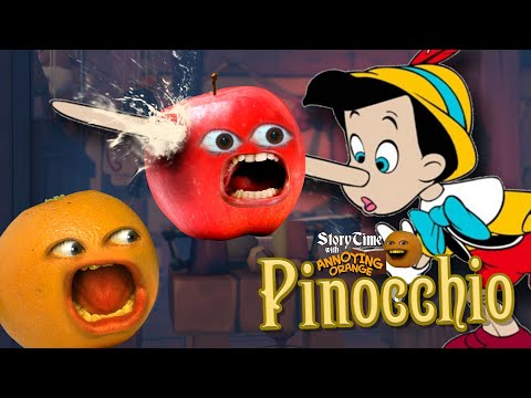 Annoying Orange - Storytime: Pinocchio!