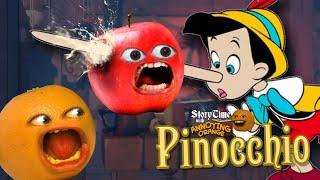 Annoying Orange - Storytime: Pinocchio!