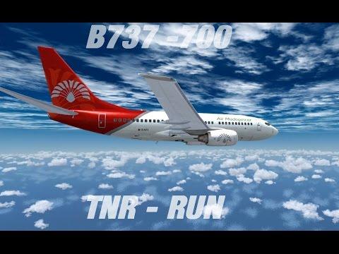 Flight Simulator X | Tananarivo (Ivato) - La Réunion (Gillot) PMDG B 737 - 700