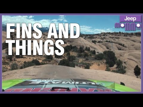 Jeep Off-Road on Fins & Things in Moab