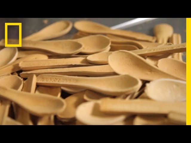 Cutlery you can eat: One company's approach to the plastic