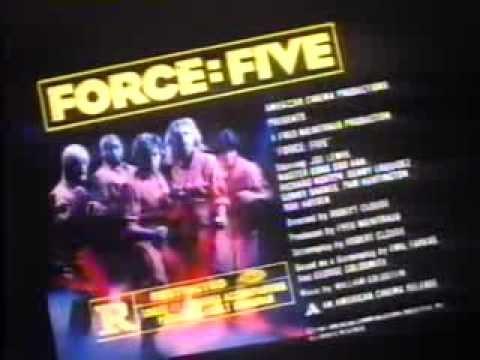 Force: Five 1981 TV trailer