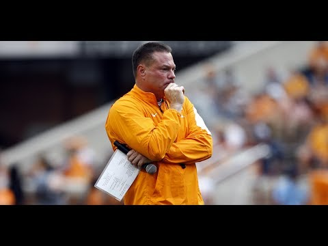 Butch Jones addresses media prior to 2017 Tennessee training camp