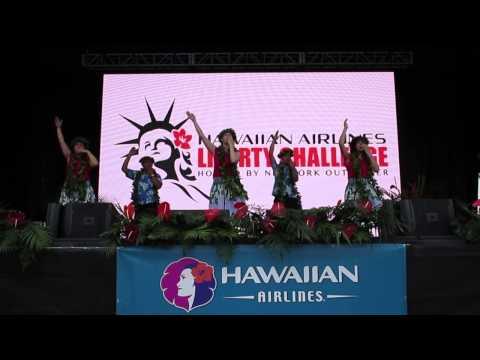 Hula He Mele Inoa O Kalakaua at Hawaiian Airlines Festival