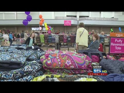 Behind the scenes at Vera Bradley Outlet Sale