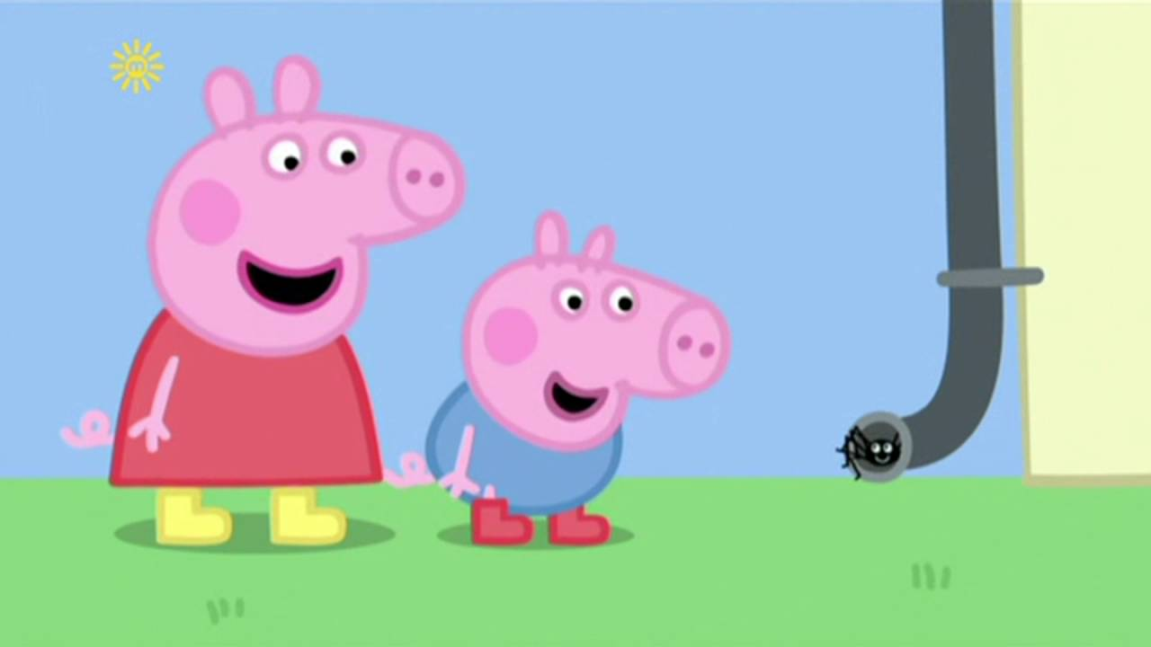 Peppa Pig - Spider Web (22 episode / 4 season) [HD]