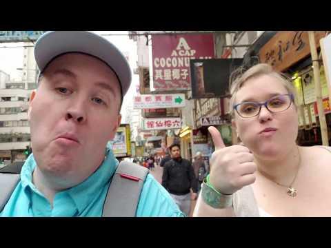 Monkey Hill and Night Market in Hong Kong Vlog #8