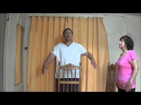 Ejercicios Basicos para Adulto Mayor de 60 años Sano  Parte 2