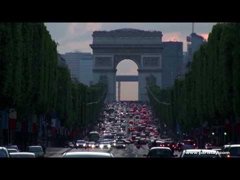 Paris Arc de Triomphe & Champs Elysee