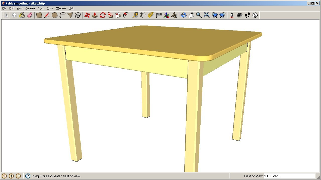 Sketchup Adding Rounds And Chamfers