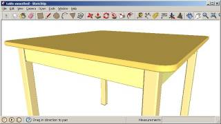 Sketchup: Adding rounds and chamfers
