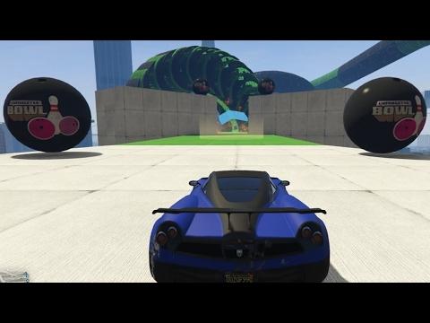 DEZE STUNT IS GENIAAAAAAAL! (GTA V Online Funny Races)