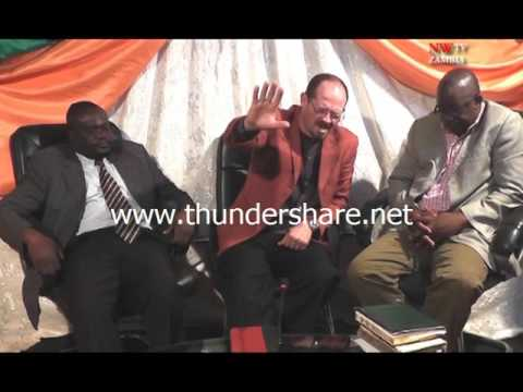 REV  DR  O'NEAL North West TV Zambia June 2015 part 6 of 6