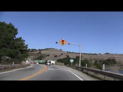 CA 92 East, CA 1 To US 101, Half Moon Bay To San Mateo