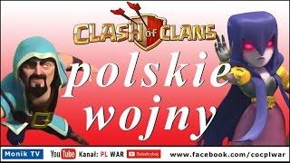 Clash of Clans PL WAR -TH11 93% zniszczeń, Eagle Artillery, Grand Warden, Wiedźmy w akcji!!