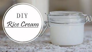 Korean Inspired DIY Rice Cream | Make Anti-Aging & Skin Whitening Rice Cream At Home