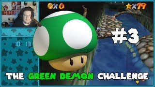 A Speedrunner Does The Green Demon Challenge (All Stages) Part 3