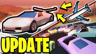 NEW PLANE SPOILERS ✈️ Roblox Jailbreak NEW UPDATE! NEW CAR COLORS | Asimo3089 & Badcc | 🔴 LIVE