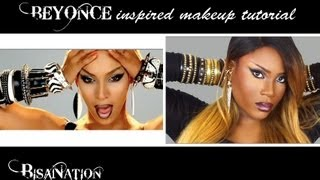 beyonce video phone music video inspired makeup tutorial ft rpgshow wig