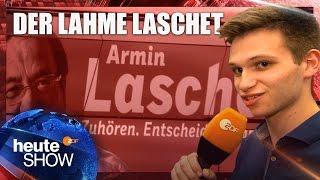 Fabian Köster beim CDU-Wahlkampf in NRW