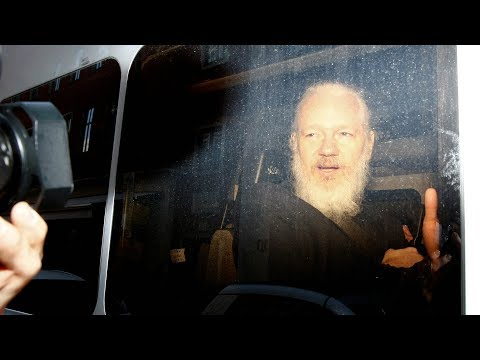 Julian Assange's arrest sets a dangerous precedent, says author