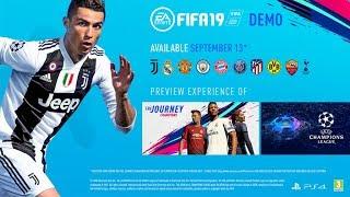 FIFA 19 DEMO!! PROVIAMOLA!!
