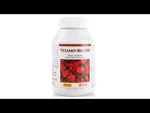 Vitamin B12500  60 Capsules