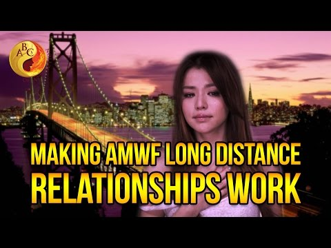 How To Make Long Distance AMWF Relationships Work and Avoid Being Catfished | Asian Dating Coach