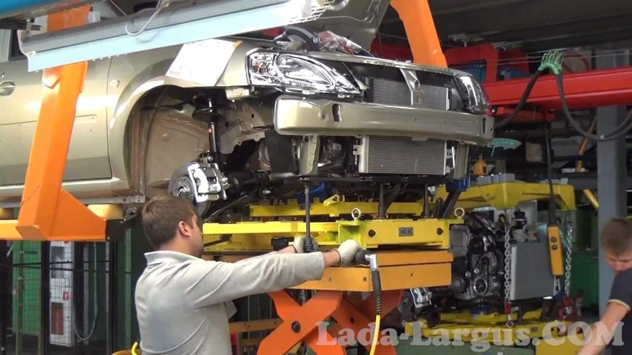 Видео конвейер сборки ваз замена генератора фольксваген транспортер