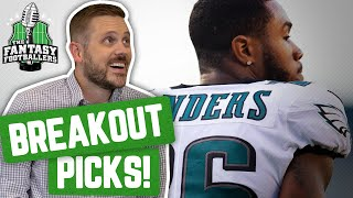 Fantasy Football 2019 - Breakout Picks + Player Questions, SOS - Ep. #757
