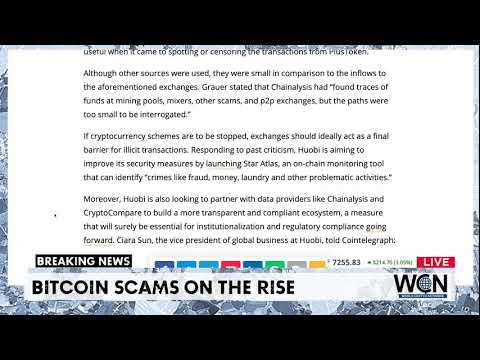 Cryptocurrency scams on the rise