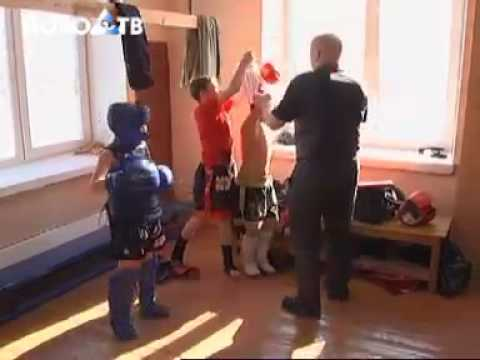 Ново-ТВ Зал тайского бокса в Новокузнецке