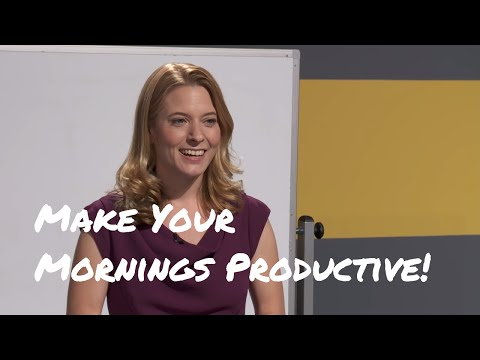 How to Make Your Mornings More Productive with Laura Vanderkam