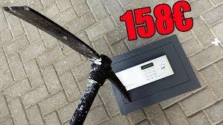Experiment - Wie stabil ist der 158€ Digital Code Tresor von Yale?