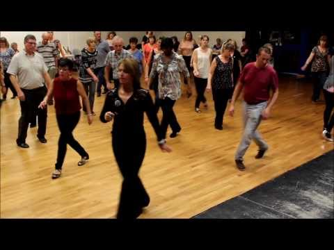 In My Heart - Line Dance Demo by Maggie Gallagher