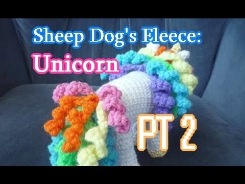Amigurumi Tutorial Portugues : Unicorn Amigurumi PT 2 - Crochet Tutorial - YouTube