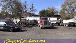 Semi Trucks Dump Trailers Pups Equipment For Sale Peterbilt Video