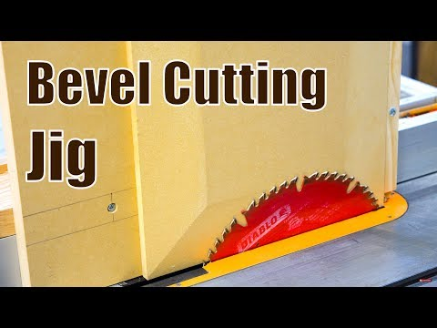 Make a Bevel Cutting Jig for Table Saw