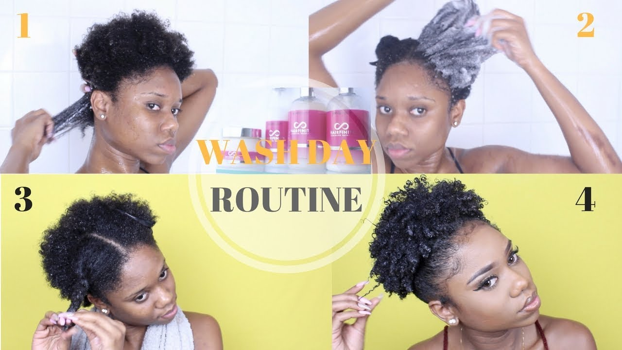 Wash Day Routine For Short 4c B A Natural Hair Very Detailed