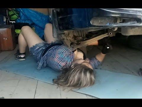"""Установка деталей """"Точка Опоры"""" в подвеску  Nissan Pulsar"""