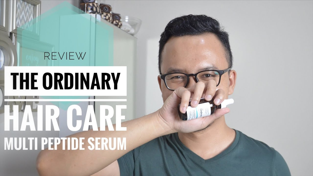Review The Ordinary Hair Care Multi Peptide Serum For Hair Density Youtube