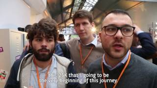 Interview de TOGETHER - winner of the BNP Paribas International Hackathon 2016