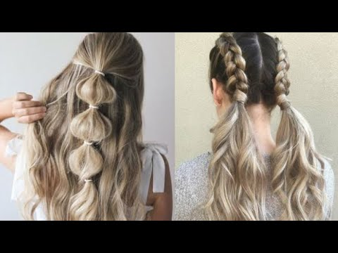 HERMOSOS PEINADOS DE MODA TUTORIAL 2017 cute Hairstyles