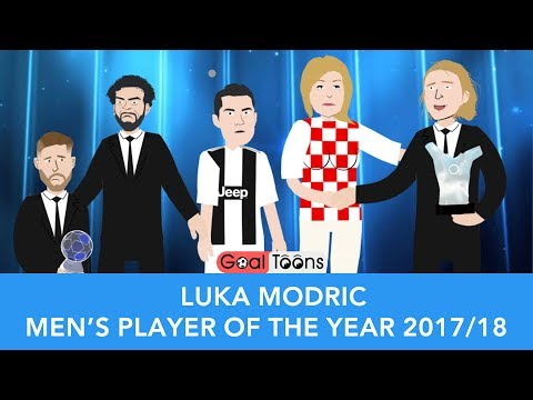 Luca  Modrić UEFA BEST PLAYER AWARD 2018