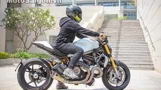 Ducati Monster 1200 S d? len d? choi g?n 1 t? d?ng | MotoSaigon.vn